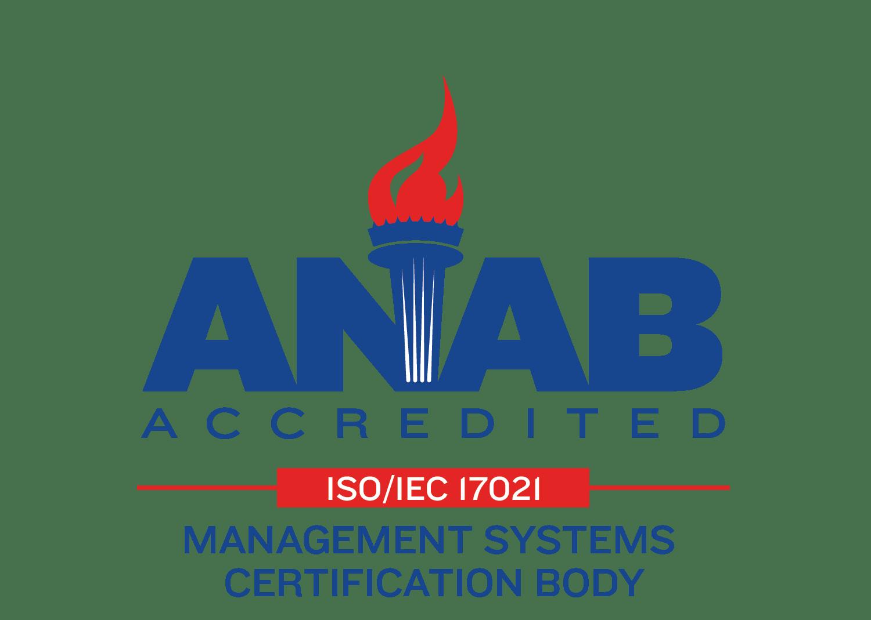 ANAB Accedited Logo